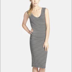 Leith Stripe Body-Con Dress, Medium